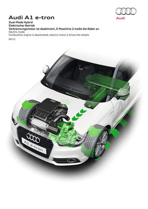 Audi Dual-Mode Hybrid Electric mode