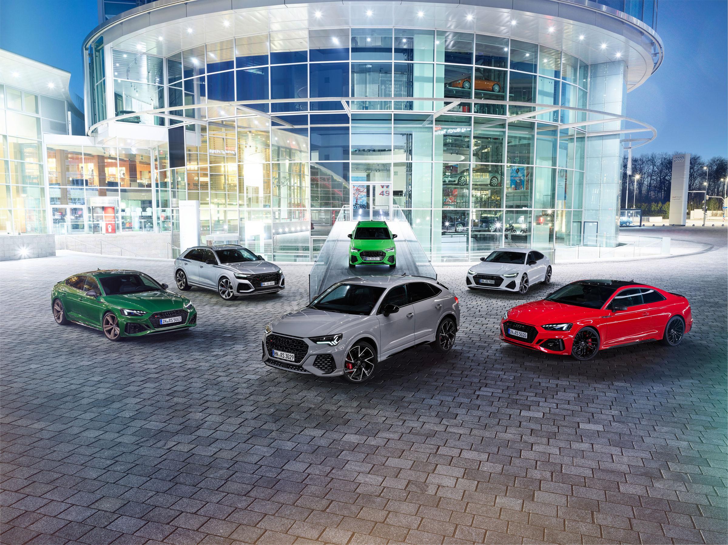 Audi RS Modelle
