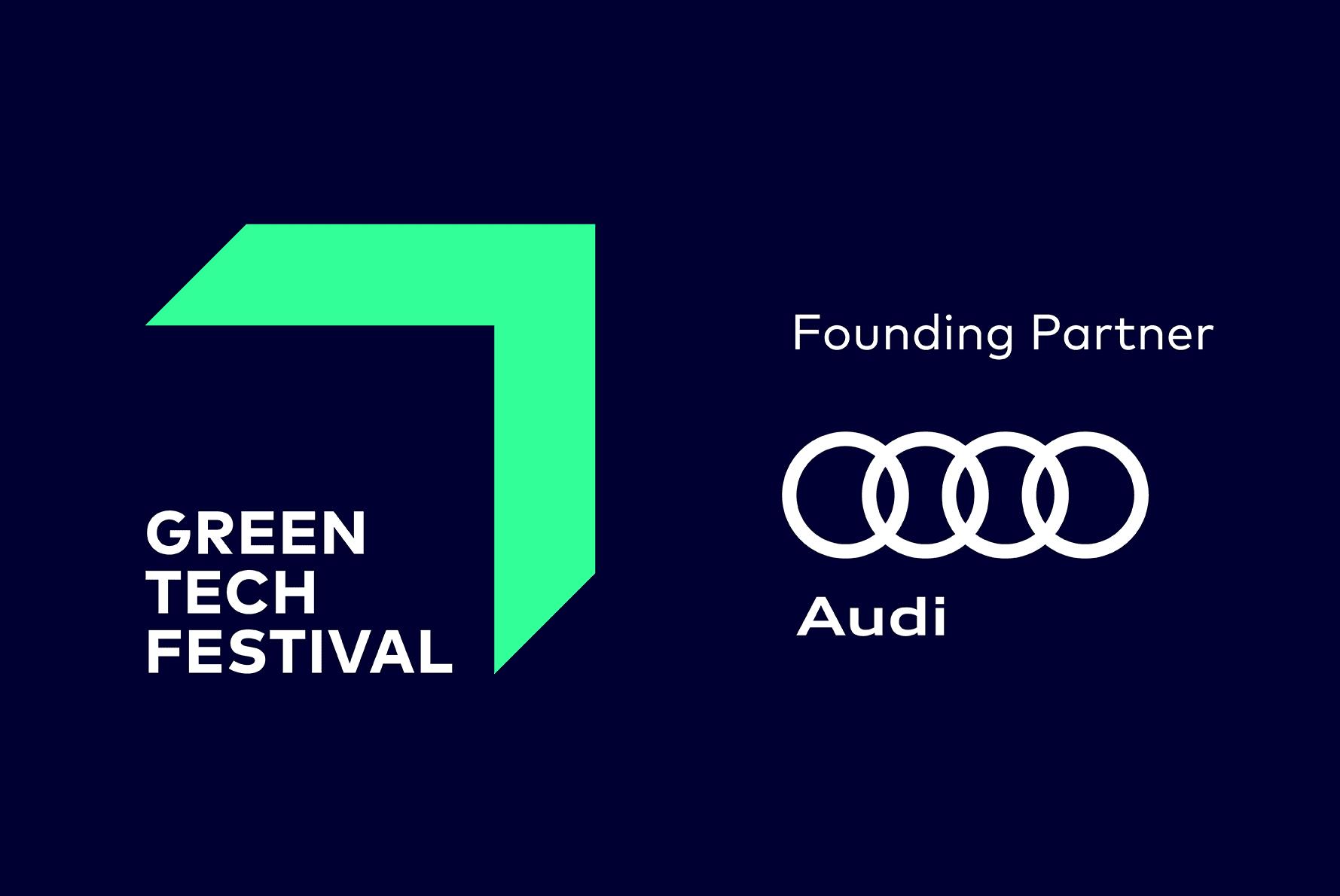 Audi wird Founding Partner des GREENTECH FESTIVALS