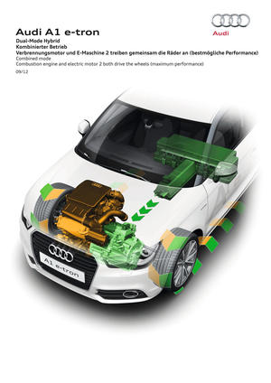 Audi Dual-Mode Hybrid Combined mode p
