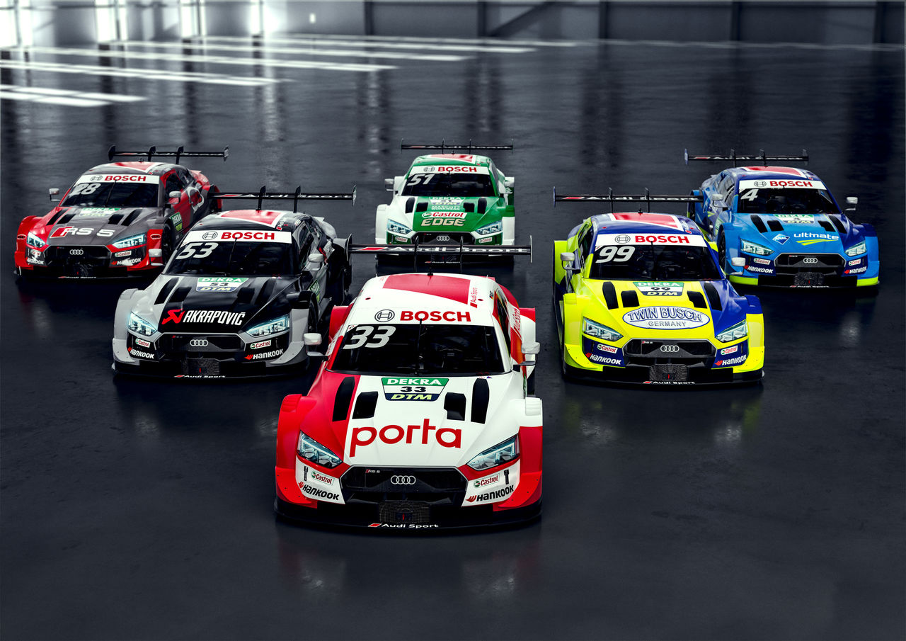 Audi RS 5 DTM: new clothes for the championship winning car