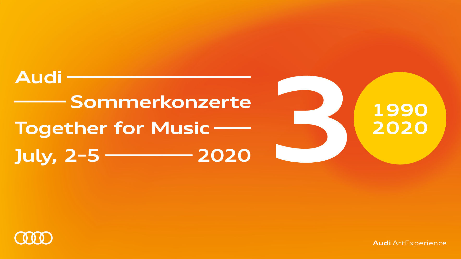 """Music Essentials"" – Audi Sommerkonzerte live with the Budapest Festival Orchestra"