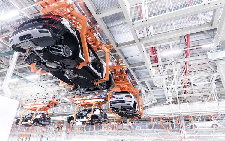 Wo sich alles zusammenfügt: die Montage von Audi México.
