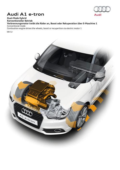 Audi Dual-Mode Hybrid Conv. mode