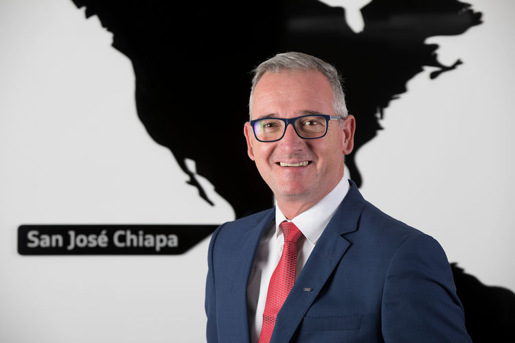 Vorsitzender der Geschäftsführung von Audi México: Andreas Lehe