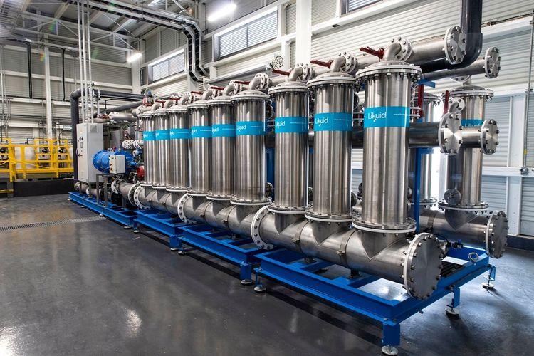 Pioniere der Wasseraufbereitung: die Osmose-Anlage