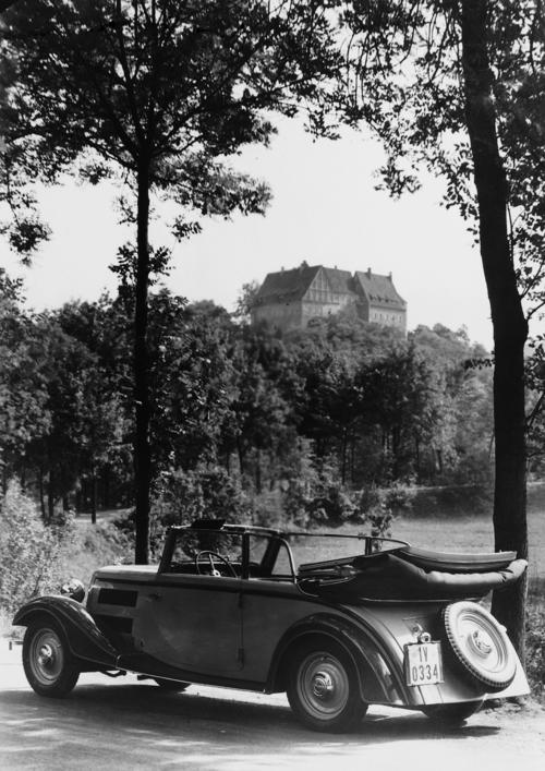 Wanderer W22, convertible, six-cylinder inline engine, 2.0 litres, 40 hp.
