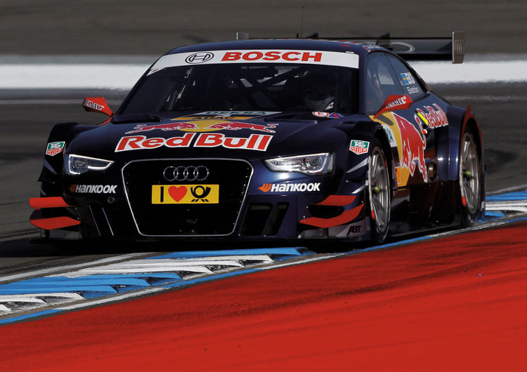 Audi on second row of the grid at DTM finale