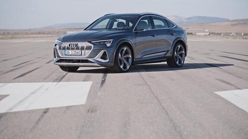 Footage Audi e-tron S Sportback