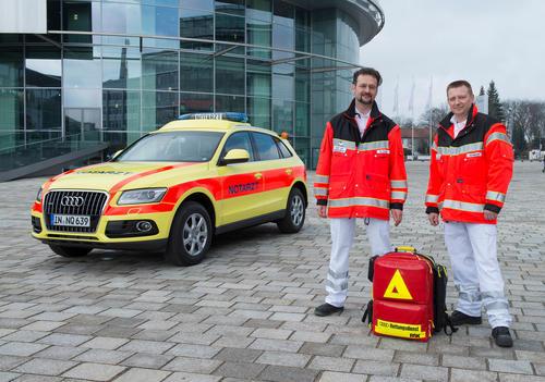 Jubiläum im Corona-Jahr: 100 Jahre Gesundheitsschutz bei Audi