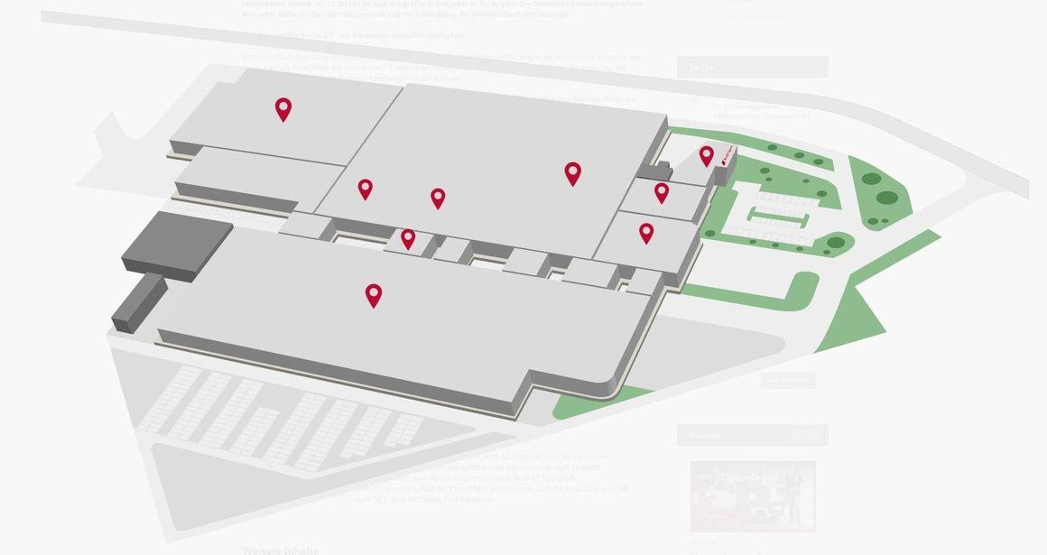 Die Produktion des Audi e-tron GT interaktiv entdecken