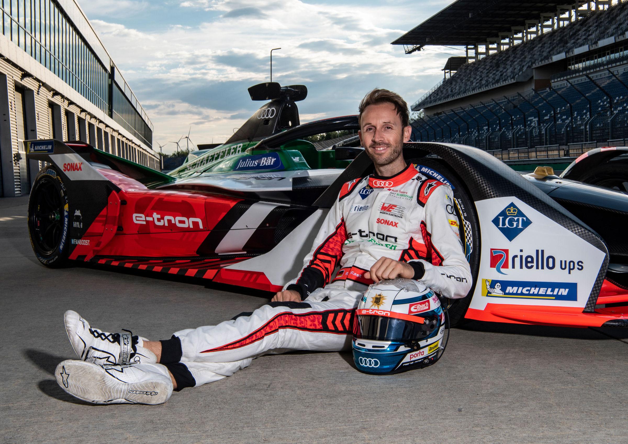 René Rast zum ersten Mal im Formel-E-Audi