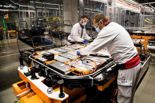 Schutzmaßnahmen bei Audi Brussels