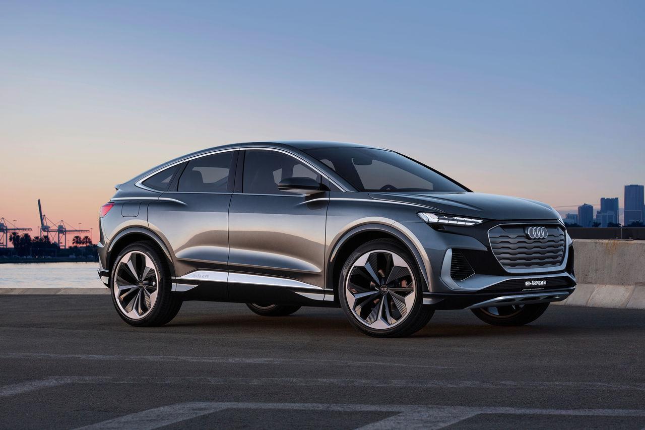 Audi Q4 Sportback e-tron concept (2020) | Audi MediaCenter