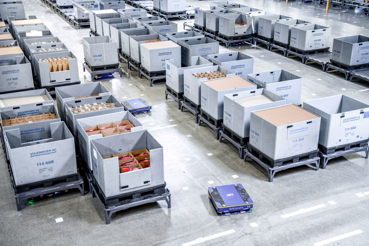 Innovation leap in logistics: ||Audi develops first Supermarket 2.0 for the automotive industry