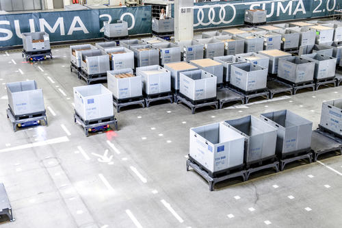Audi develops first Supermarket 2.0 for the automotive industry
