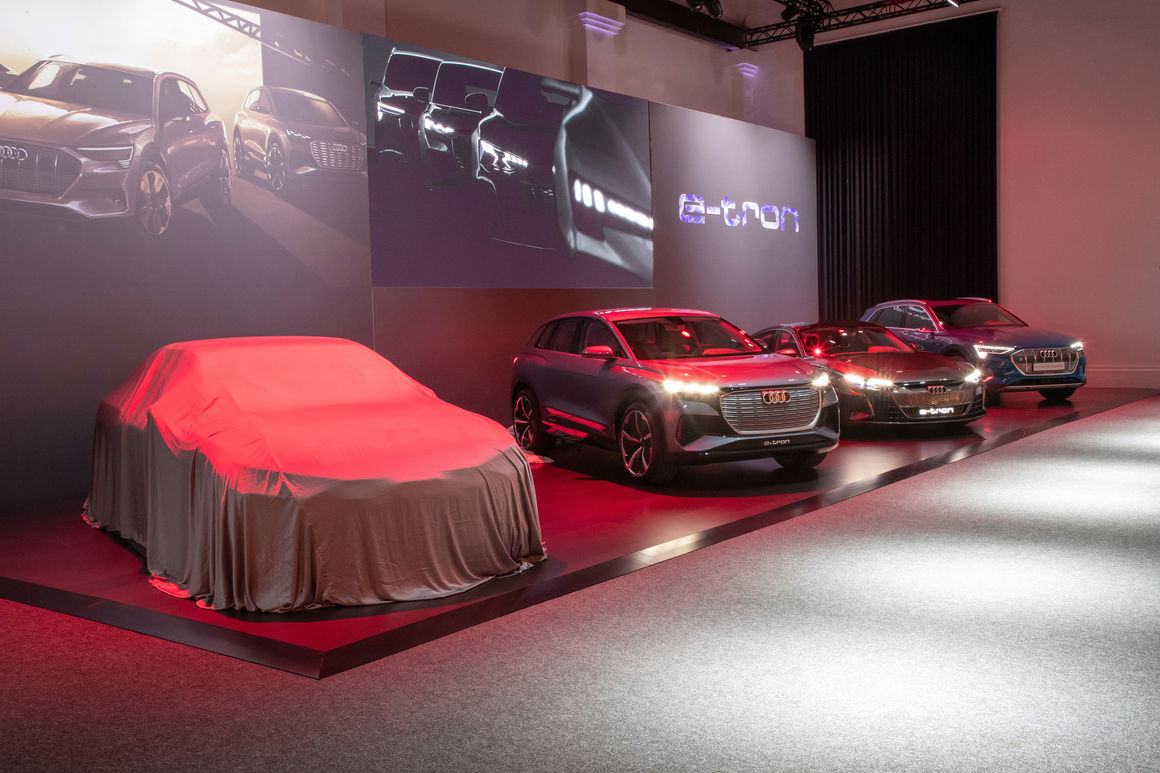 AUDI AG delivered around 1.846 million new Audi brand cars to customers during 2019
