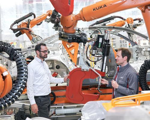 Predictive Maintenance: Audi Maintenance uses data to predict the future