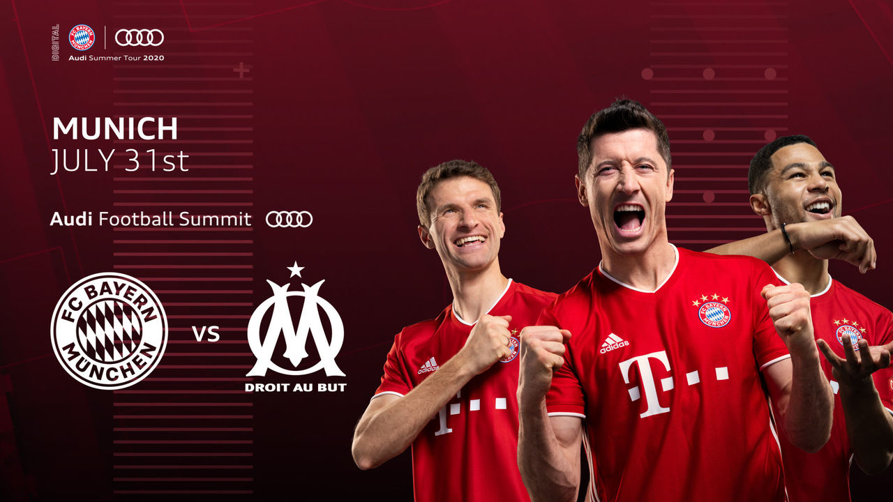 Audi Football Summit: FC Bayern welcomes Marseille