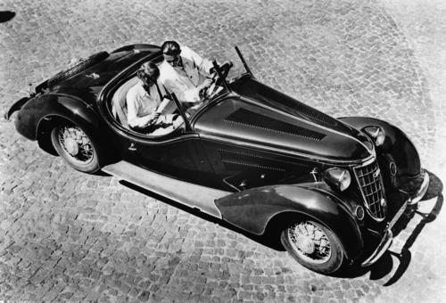 Wanderer W25K, roadster, six-cylinder inline engine, 2.0 litres with compressor, 85 hp.