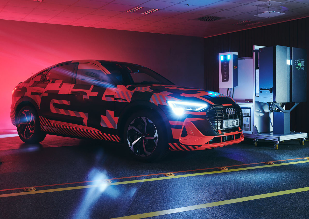 Electric Cars As Part Of The Energy Transition Audi Is Researching Bidirectional Charging Technology Audi Mediacenter