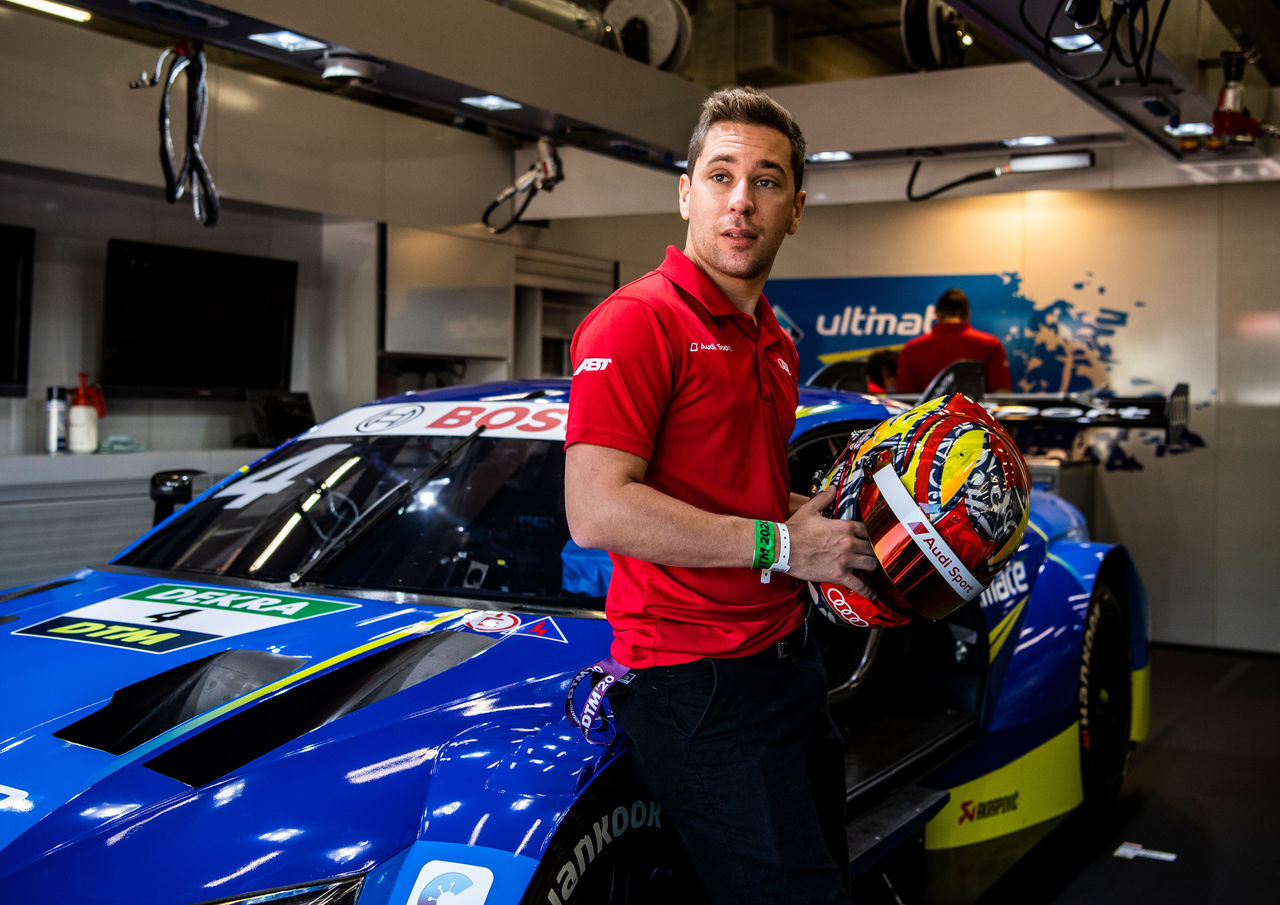 "Audi driver Robin Frijns: ""I'm optimistic to celebrate my first DTM victory soon"""