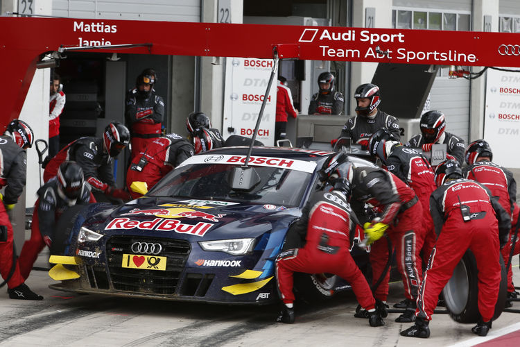Spannung pur: Audi RS 5 DTM in der Lausitz