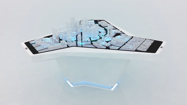 Audi Urban Future Initiative at the International CES electronics fair 2014