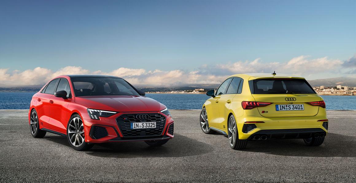 More Dynamic Than Ever The Audi S3 Sportback And S3 Sedan Audi Mediacenter