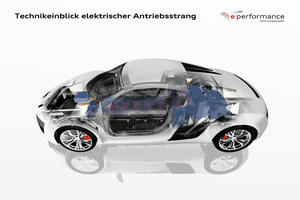 e performance Electric drive train