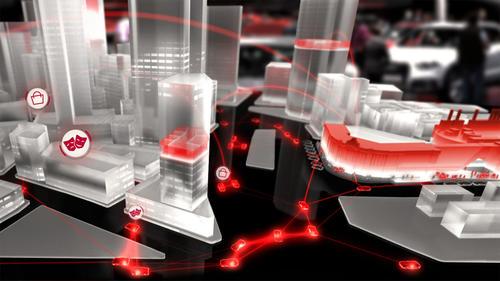 Audi Urban Future Initiative auf der Elektronikmesse International CES 2014