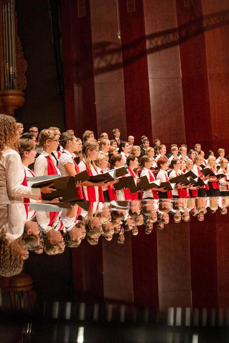 Audi Jugendchorakademie auf Italientournee
