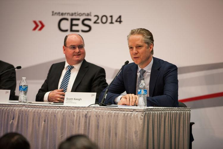 CES Las Vegas 2014 - Audi press converence