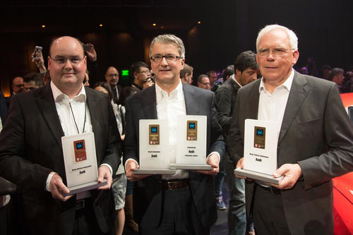 Audi Keynote International CES 2014