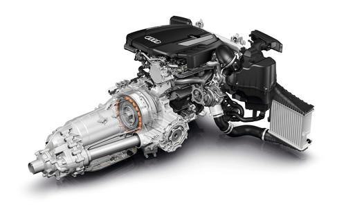 Audi A8 hybrid 08