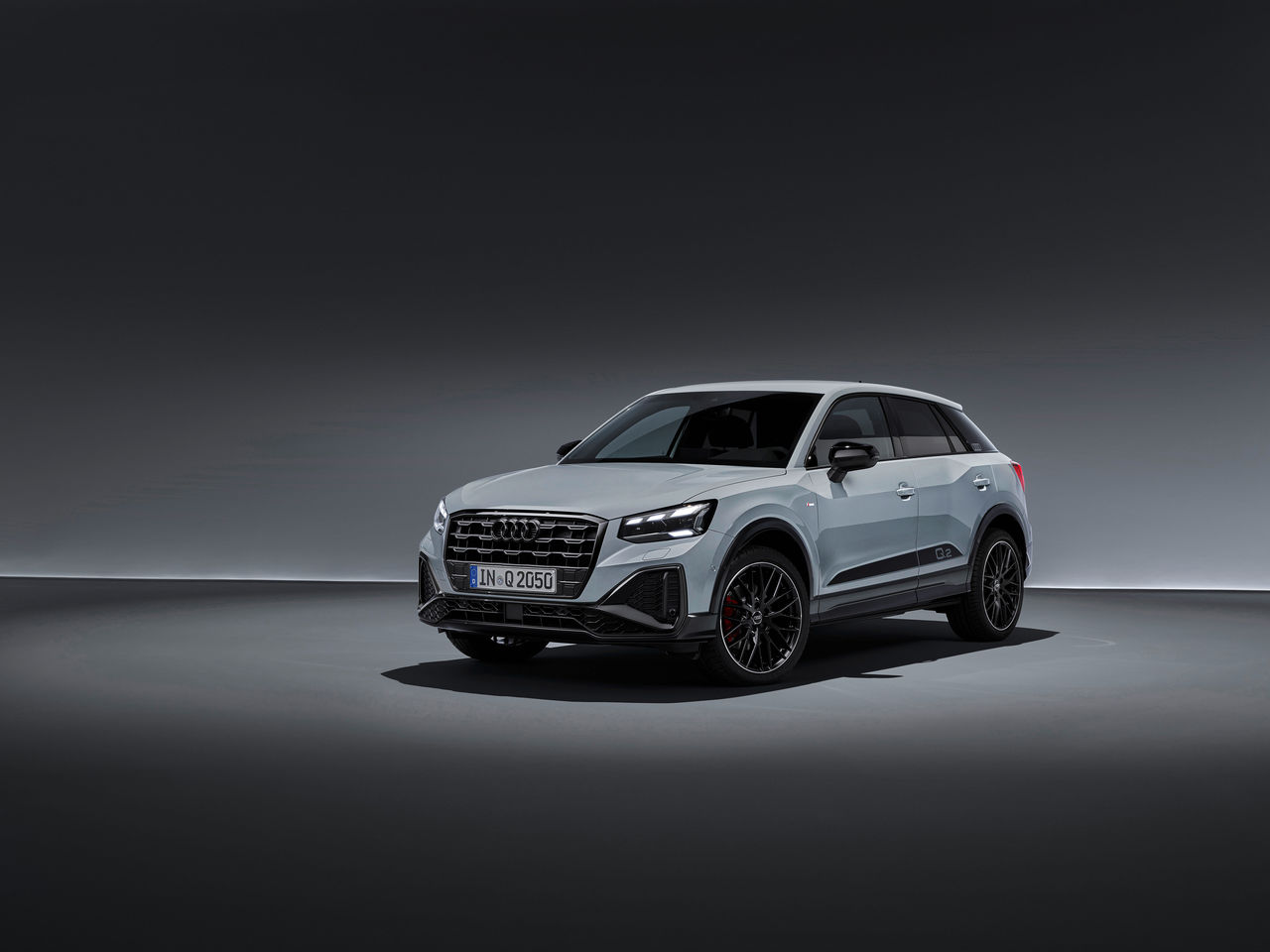 Finishing touches for many details:||The Audi Q2 in new top form