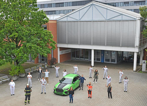 Start ins Berufsleben: Audi begrüßt neue Auszubildende