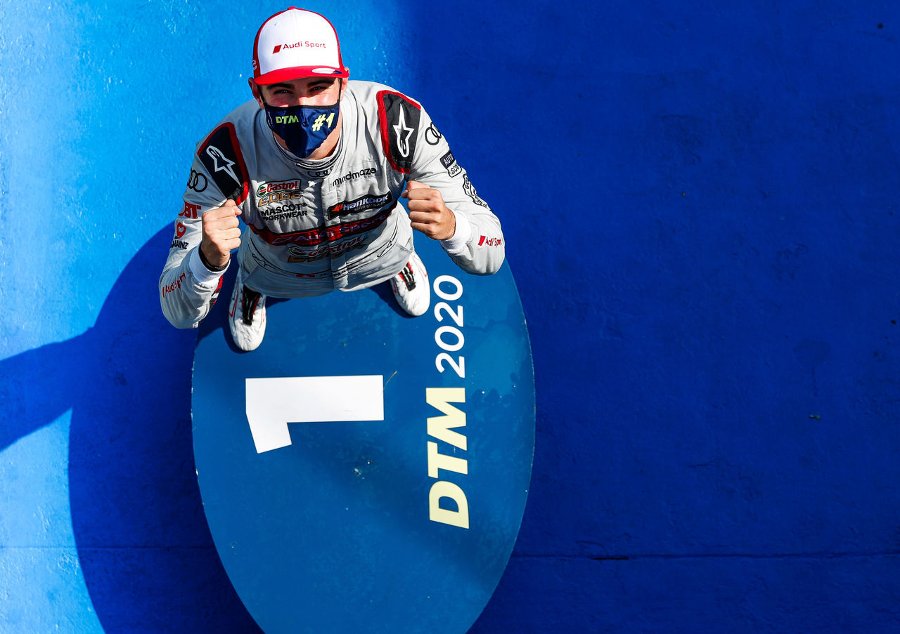 Audi driver Nico Müller leads at halfway mark of DTM season after commanding win at the Nürburgring