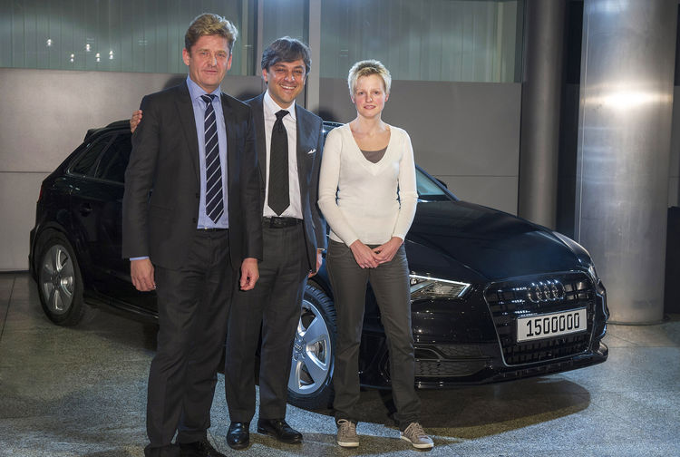 AUDI AG: More than 1.5 million automobiles delivered to customers