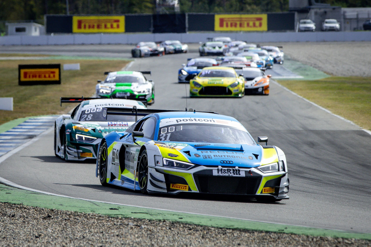 1-2-3 win for Audi Sport teams in the ADAC GT Masters