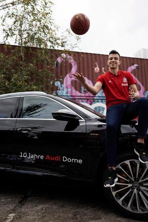 New Audi cars for FC Bayern basketball players