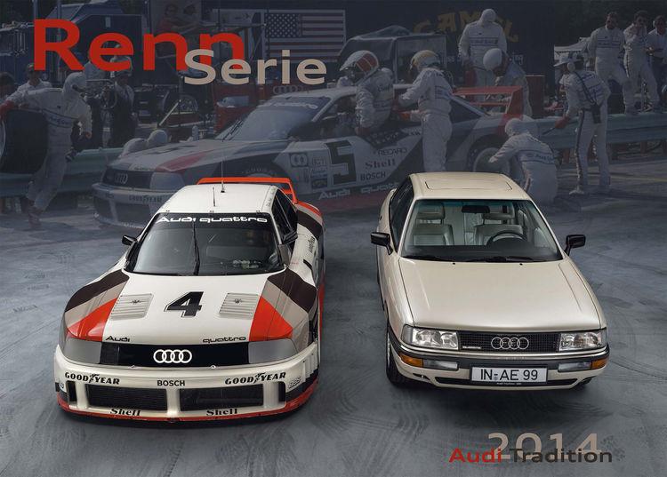 """RennSerie"" – Audi Tradition Kalender 2014"