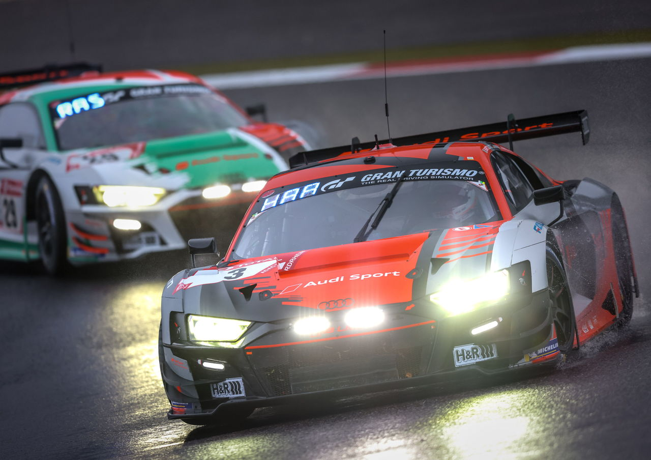 Second place for Audi Sport customer racing at the Nürburgring