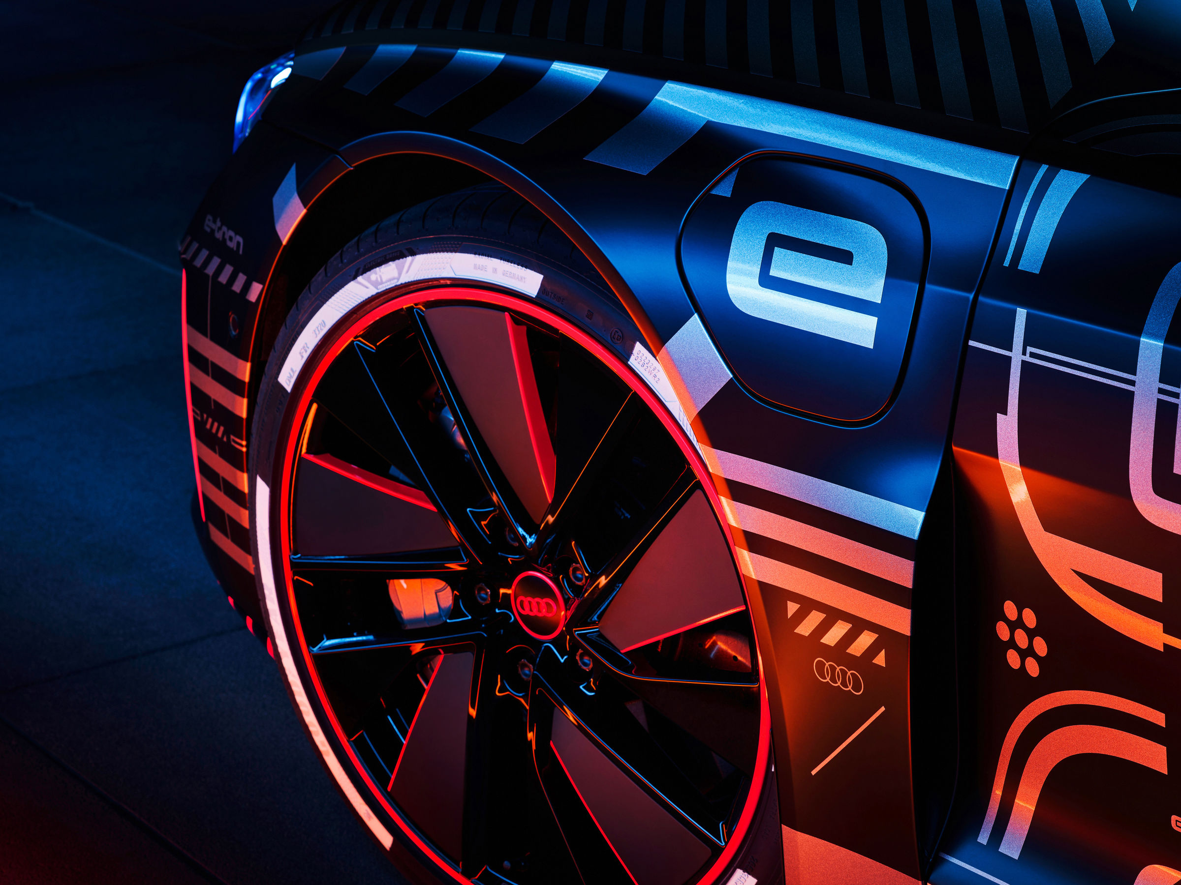 The new Audi e-tron GT