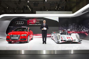 Audi at motor shows in Tokyo and Los Angeles