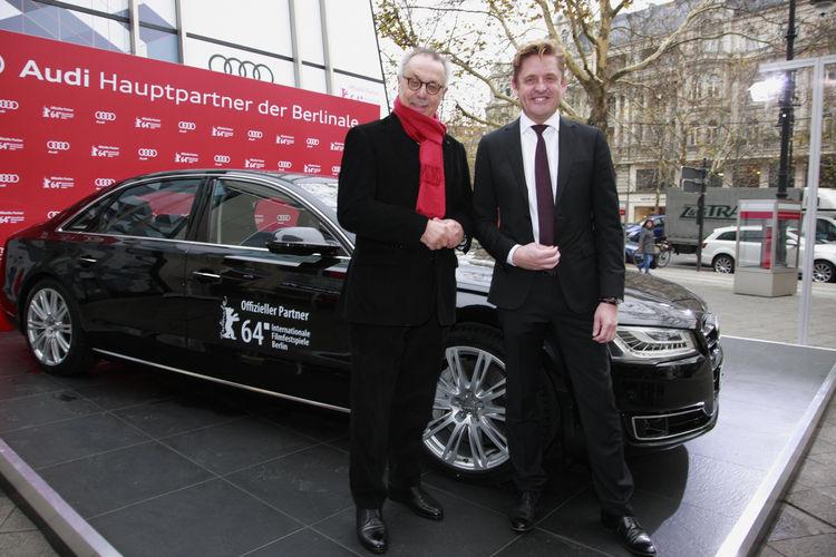Audi ist neuer Hauptpartner der Berlinale