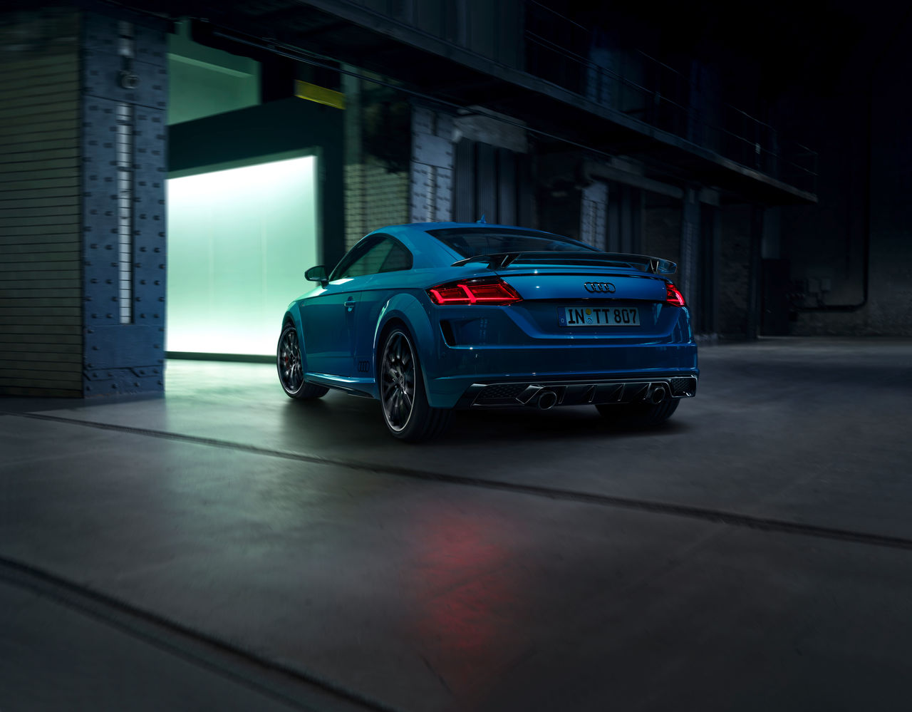 Great attention to detail and even sharper: ||The Audi TT S line competition plus