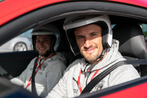 FC Ingolstadt 04 bei der Audi driving experience