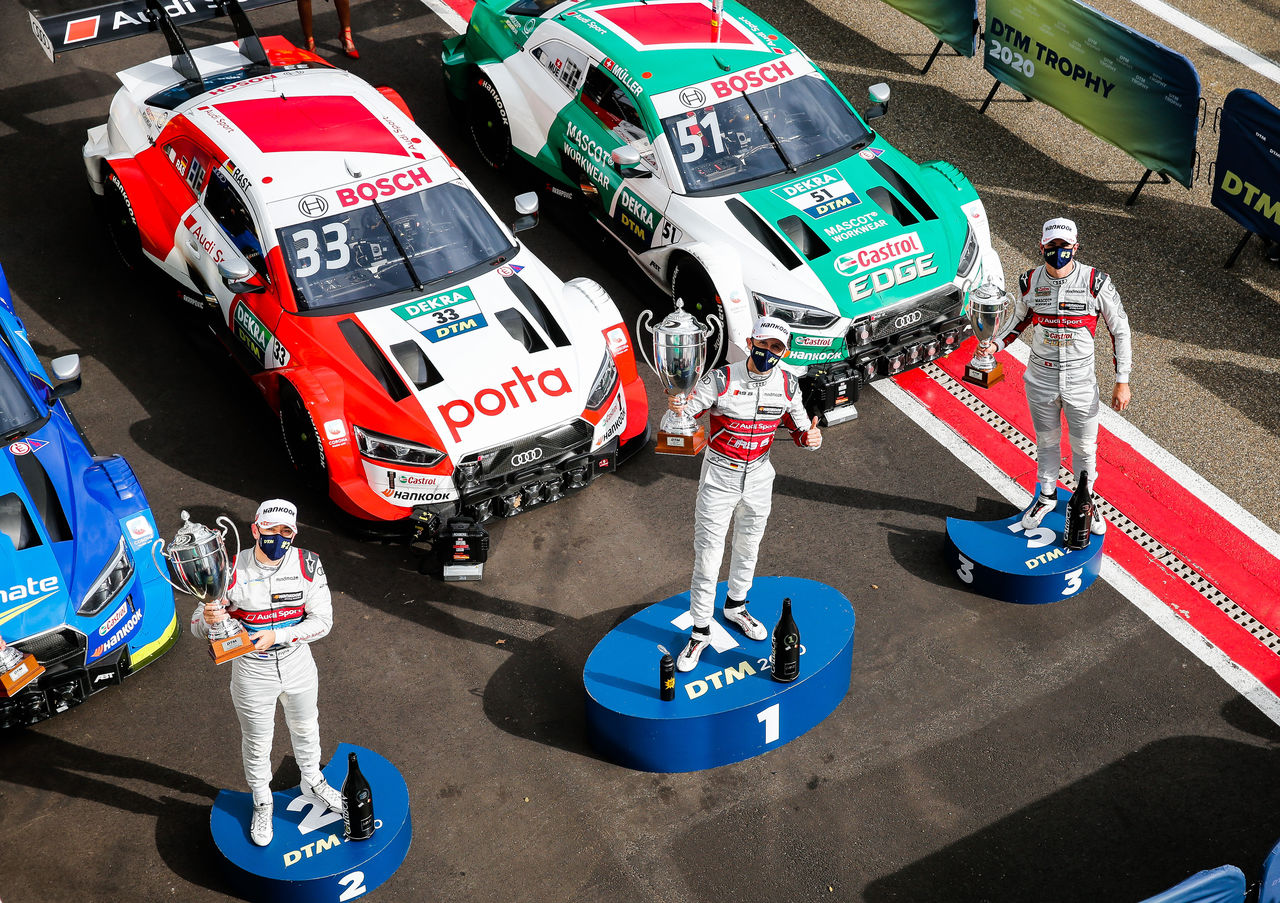 Final thriller at Hockenheim: Three Audi drivers want the DTM title