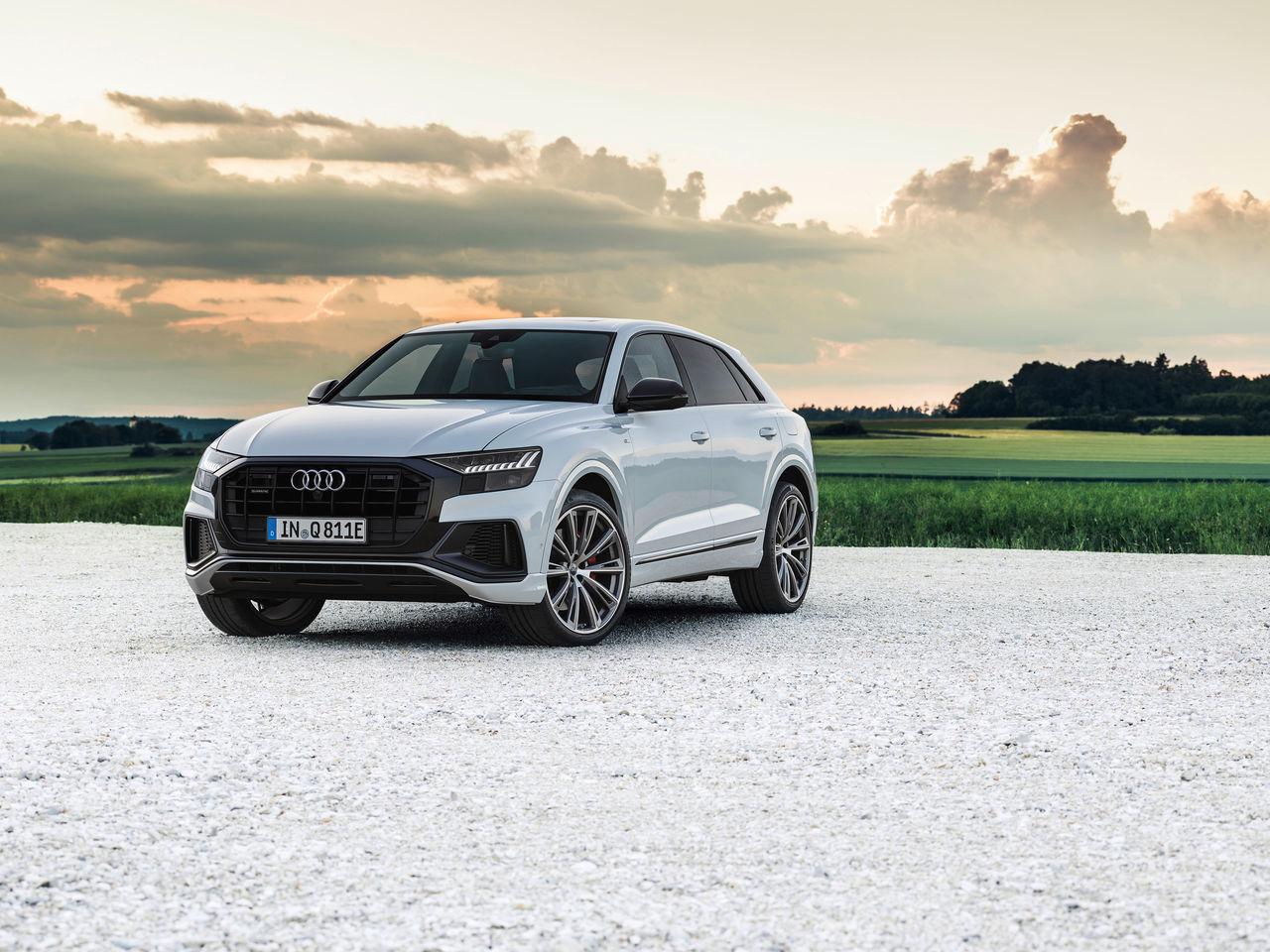 Plug-in hybrid rounds off Q8 product line: The Audi Q8 TFSI e quattro